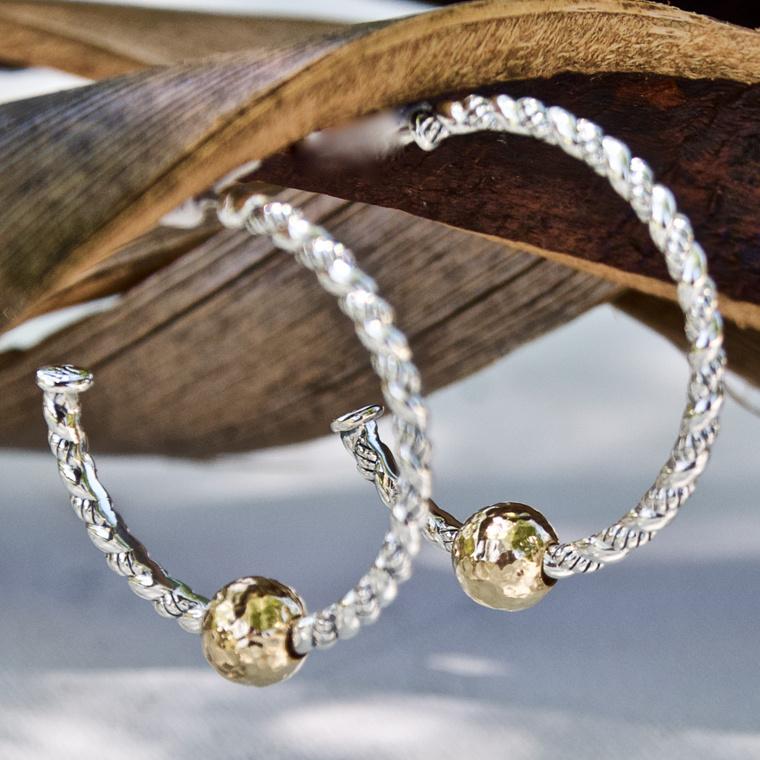 Earrings Gold Silver Stainless Steel Earrings More Qvc Com