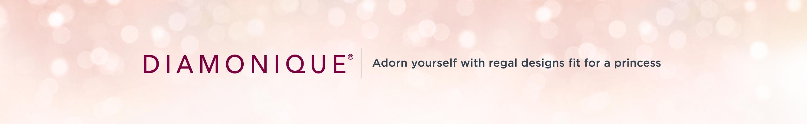 Diamonique®. Adorn yourself with regal designs fit for a princess