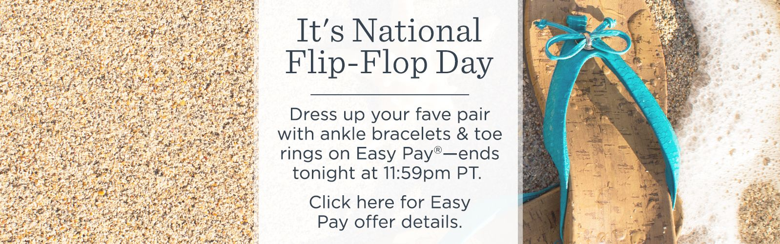 It's National Flip-Flop Day