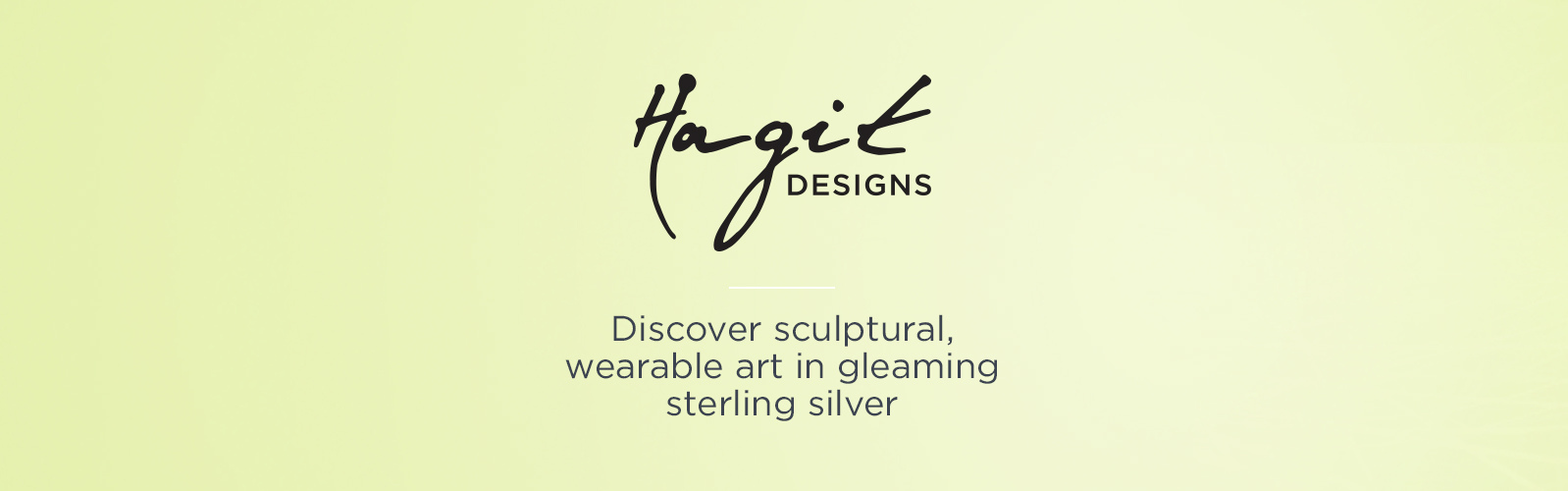 Hagit — Discover sculptural, wearable art in gleaming sterling silver