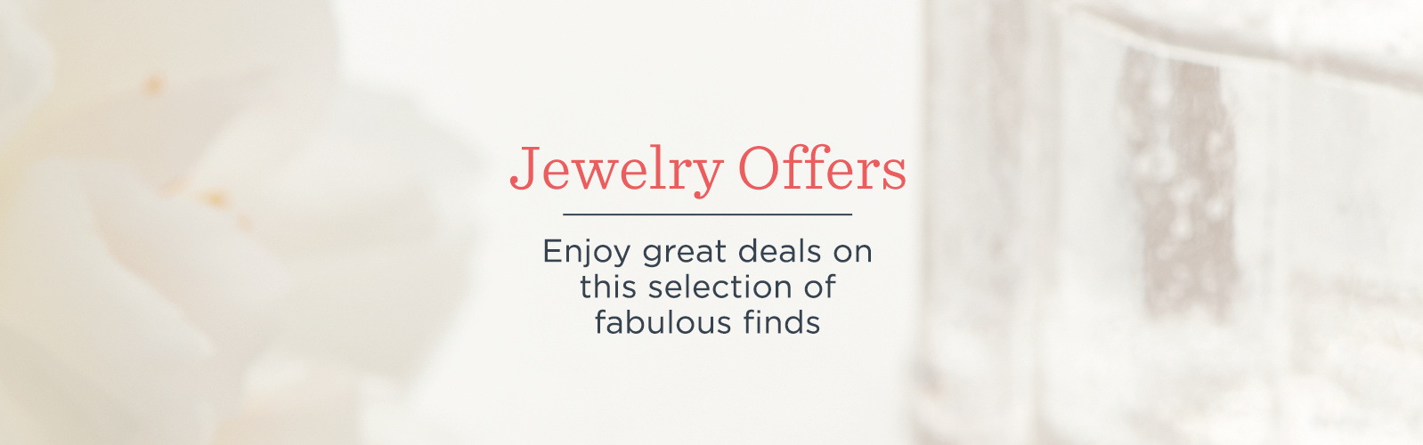 Jewelry Offers. Enjoy great deals on this selection of fabulous finds