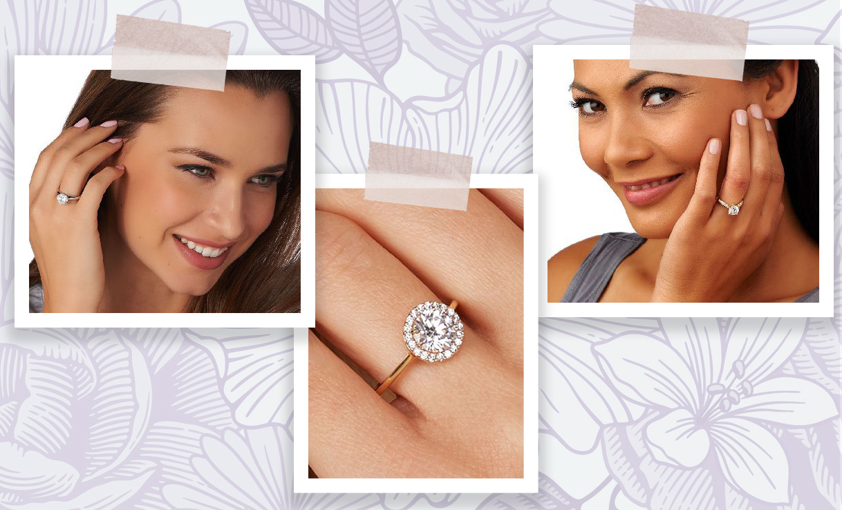 Engagement Rings - Symbolize your special bond with something truly unforgettable. Check out dazzling gold, sterling silver & platinum-clad options with natural or simulated diamonds.