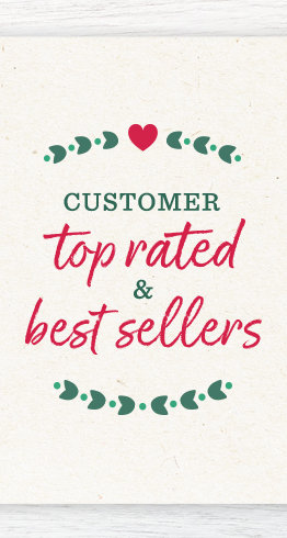 Customer Top Rated & Best Sellers