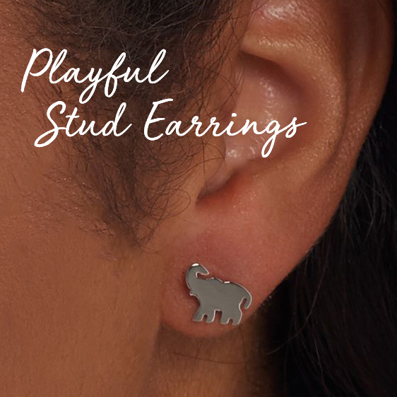 Playful Stud Earrings