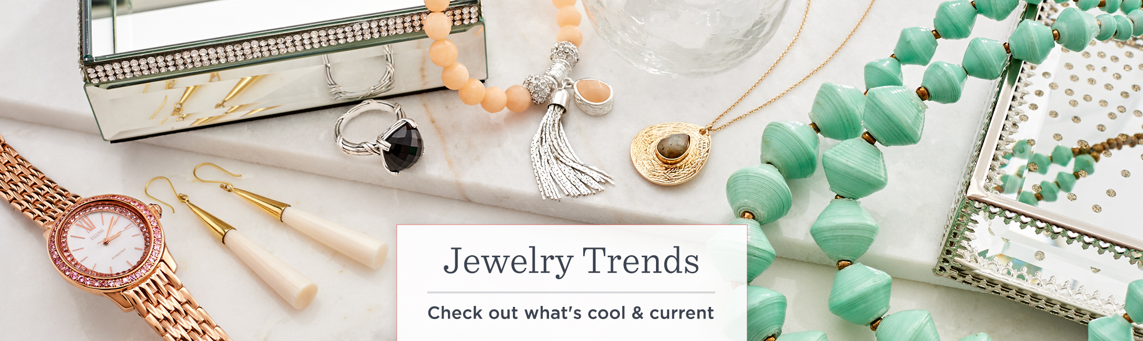 Jewelry Trends. Check out what's cool & current