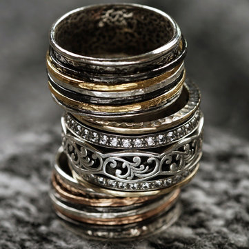Spinner. Unique pieces that add flair to any look