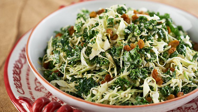 Kale, Cabbage and Broccoli Slaw