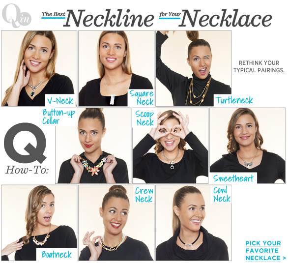 The Best Neckline for Your Necklace