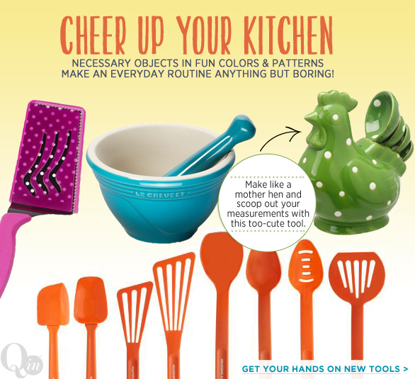 Cheer Up Your Kitchen