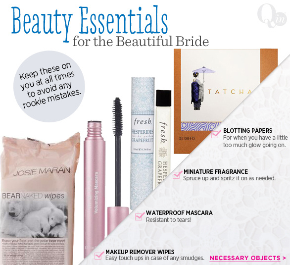 Beauty Essentials for the Beautiful Bride