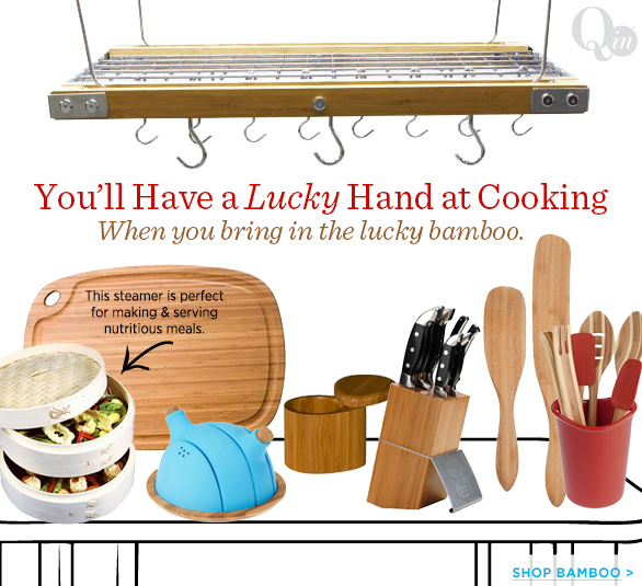 You'll Have a Lucky Hand at Cooking