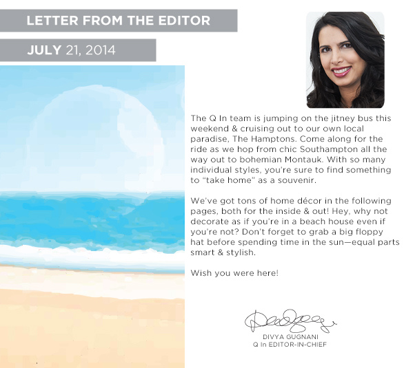 Letter From the Editior