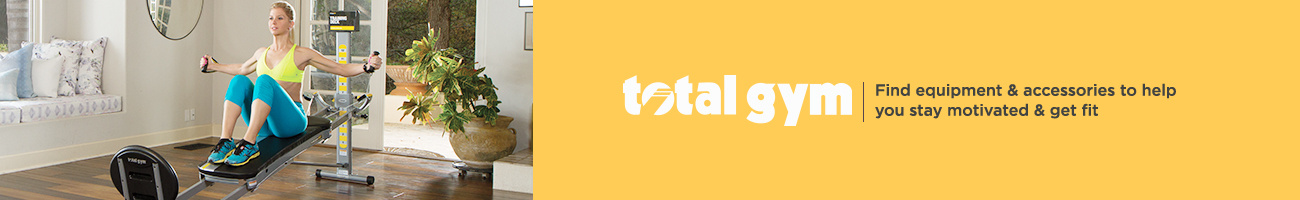 Total Gym — Find equipment & accessories to help you stay motivated & get fit