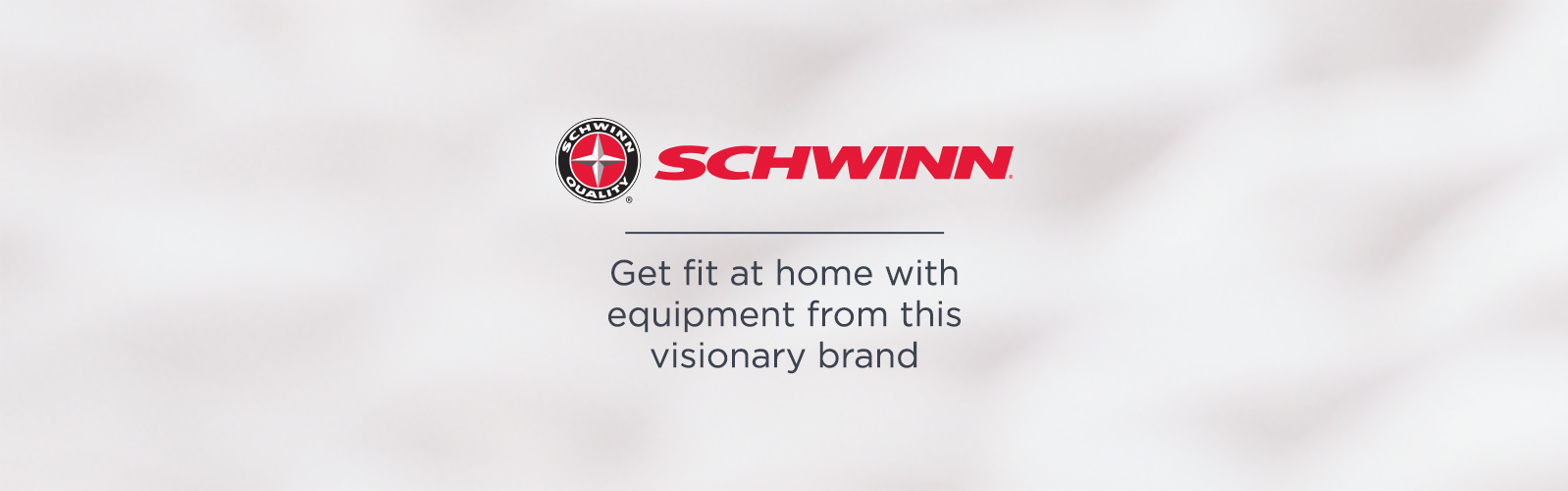 Schwinn — Get fit at home with equipment from this visionary brand
