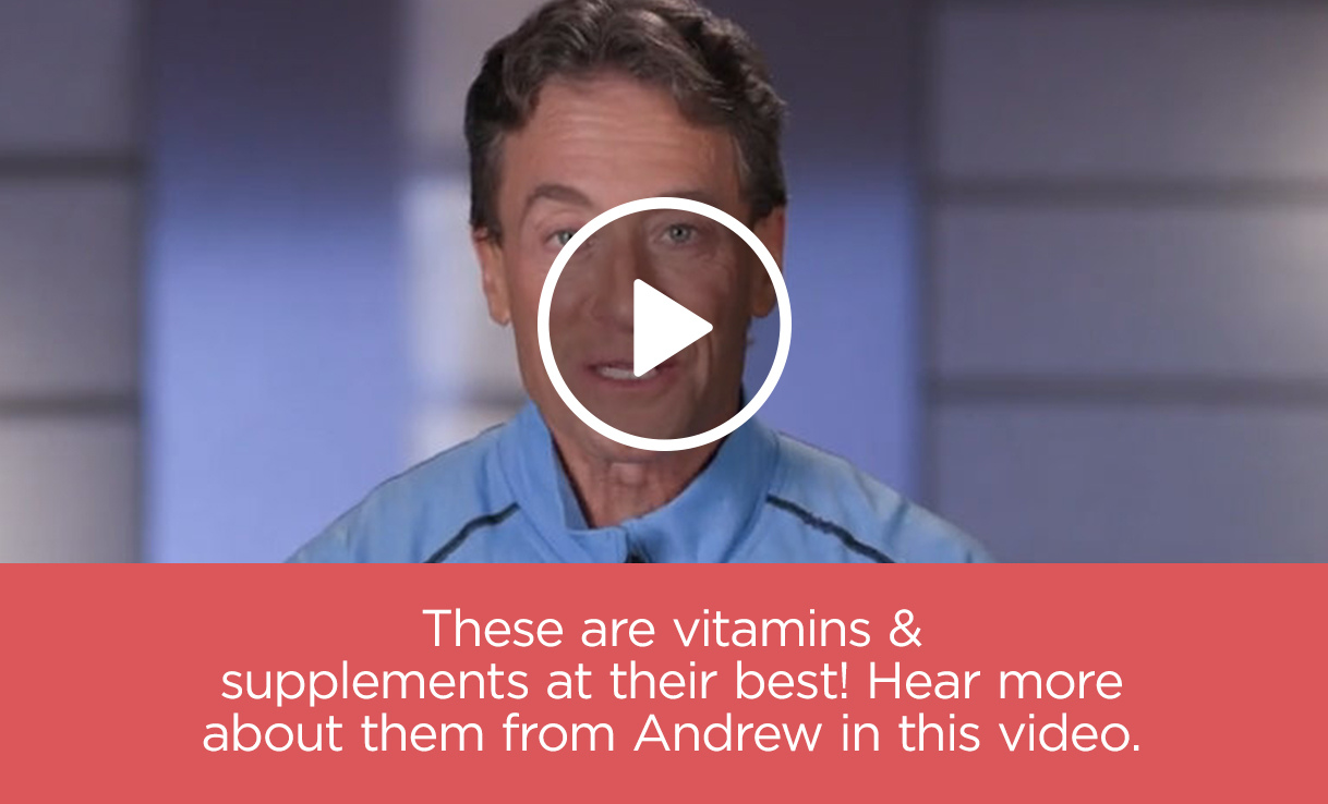 Andrew Lessman discusses his vitamins & supplements