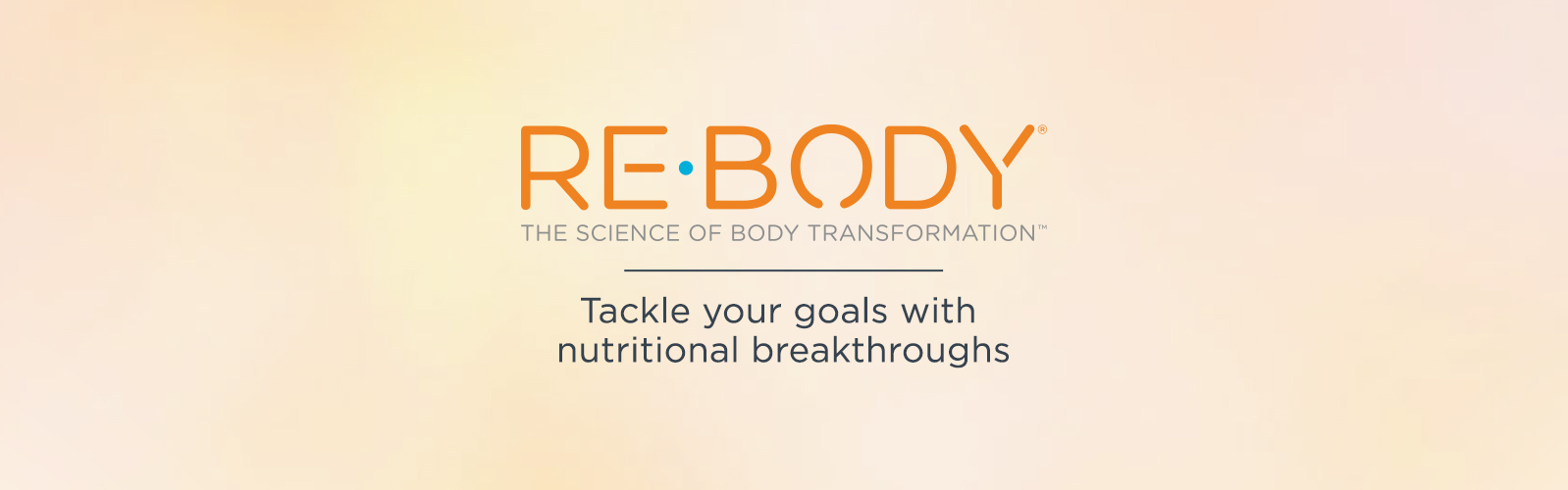 Re-Body. The Science of Body Transformation. Tackle your goals with nutritional breakthroughs.