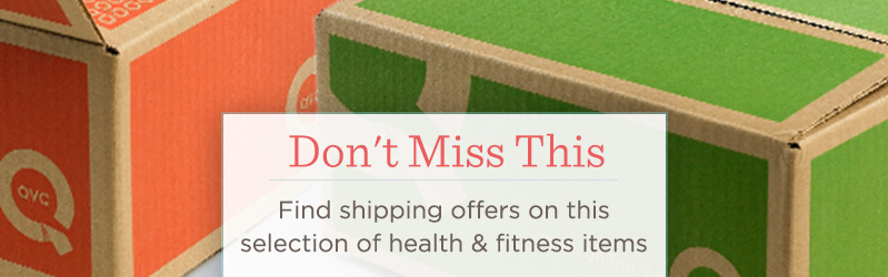Don't Miss This — Find shipping offers on this selection of health & fitness items