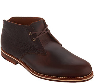 HELM Boots Men's Chukka Leather Boot -