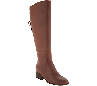 Lucky Brand Knee High Leather Boot - Lanesha