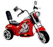 Lil Rider Red Rocking 3 Wheel Chopper 6V Ride-On - T127201