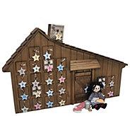 The Queens Treasures Little House Prairie Advent Calendar - T129001