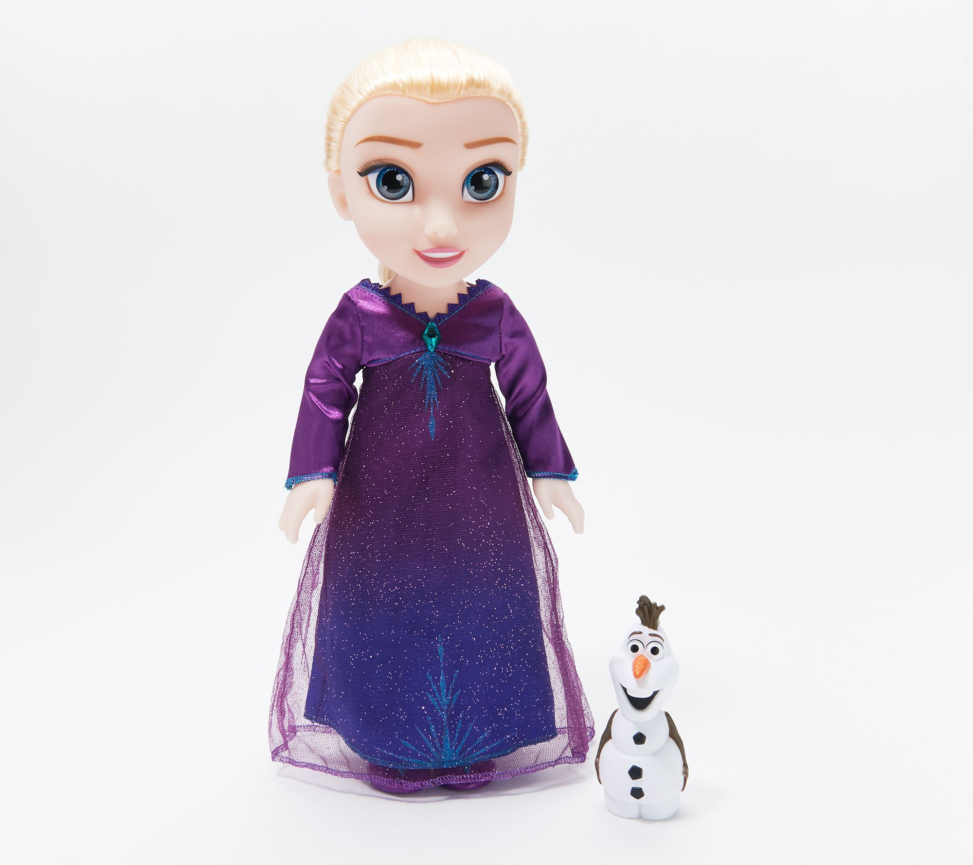 disney 39 s frozen 2 singing elsa doll with light up dress. Black Bedroom Furniture Sets. Home Design Ideas