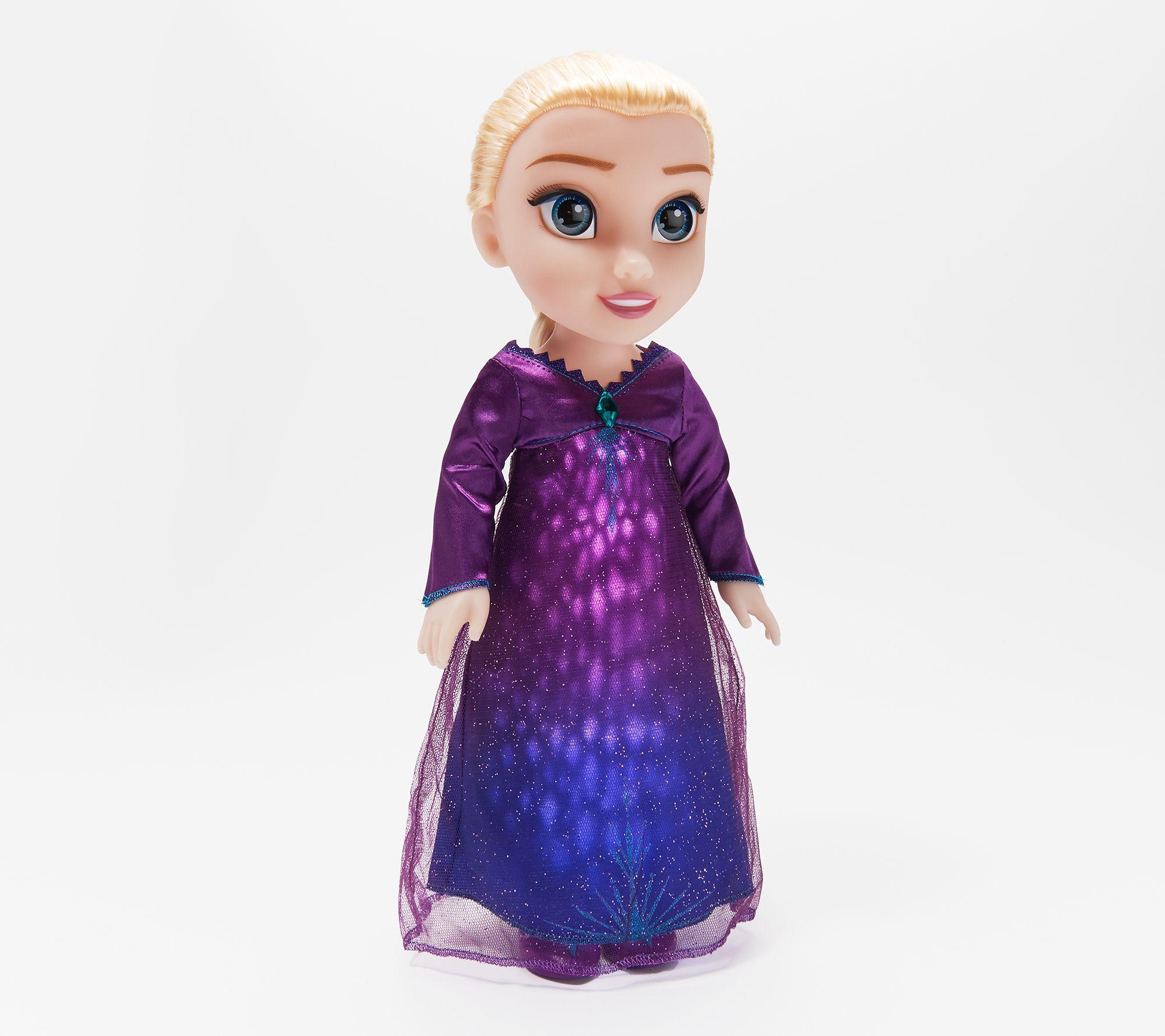 Disney S Frozen 2 Singing Elsa Doll With Light Up Dress