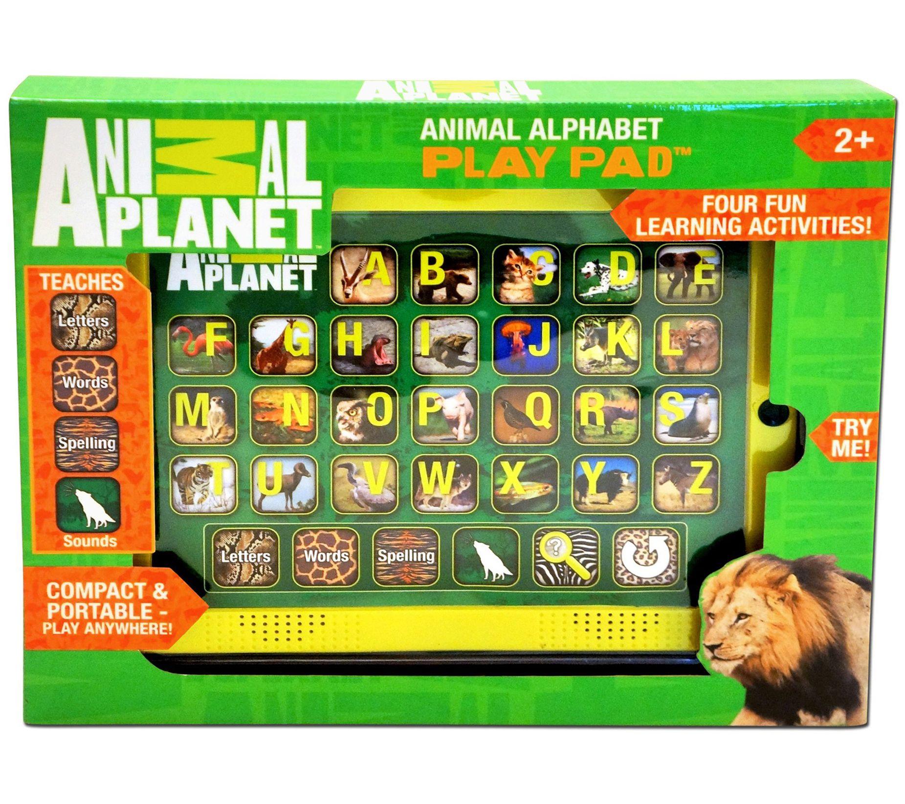 Smart Play Animal Planet Animal Alphabet Play Pad — QVC com