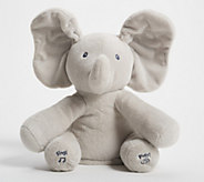 Flappy Animated Plush Elephant with Music by Gund - T34105
