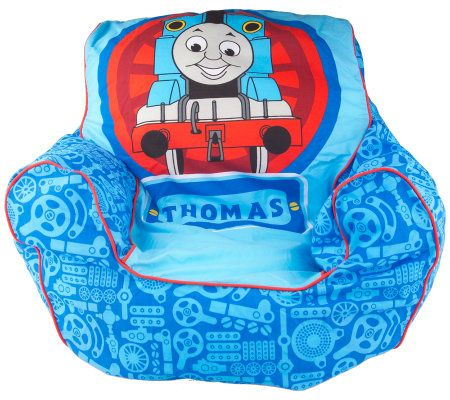 Attirant Thomas The Tank Childrenu0027s Armchair Style Beanbag Chair U2014 QVC.com