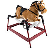 Happy Trails Spring Rocking Horse with Sounds - T128307