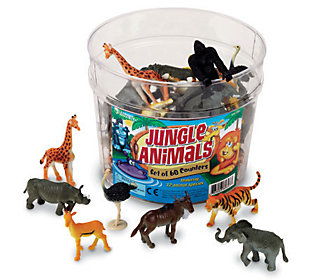 Set of 60 Jungle Animal Counters  by