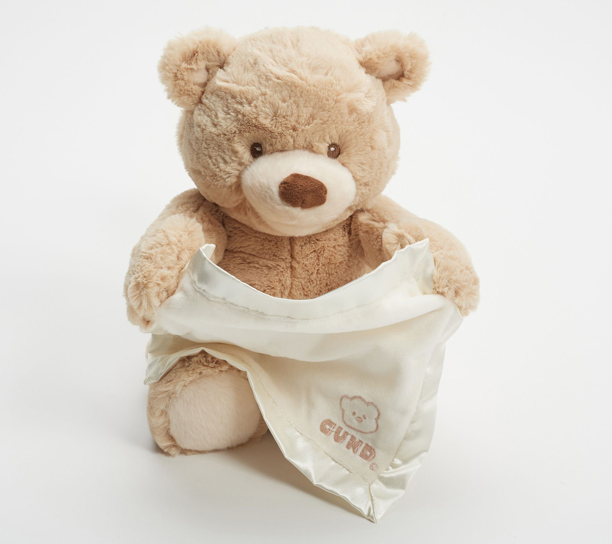 Animated Peek A Boo Bear By Gund Page 1 Qvc Com