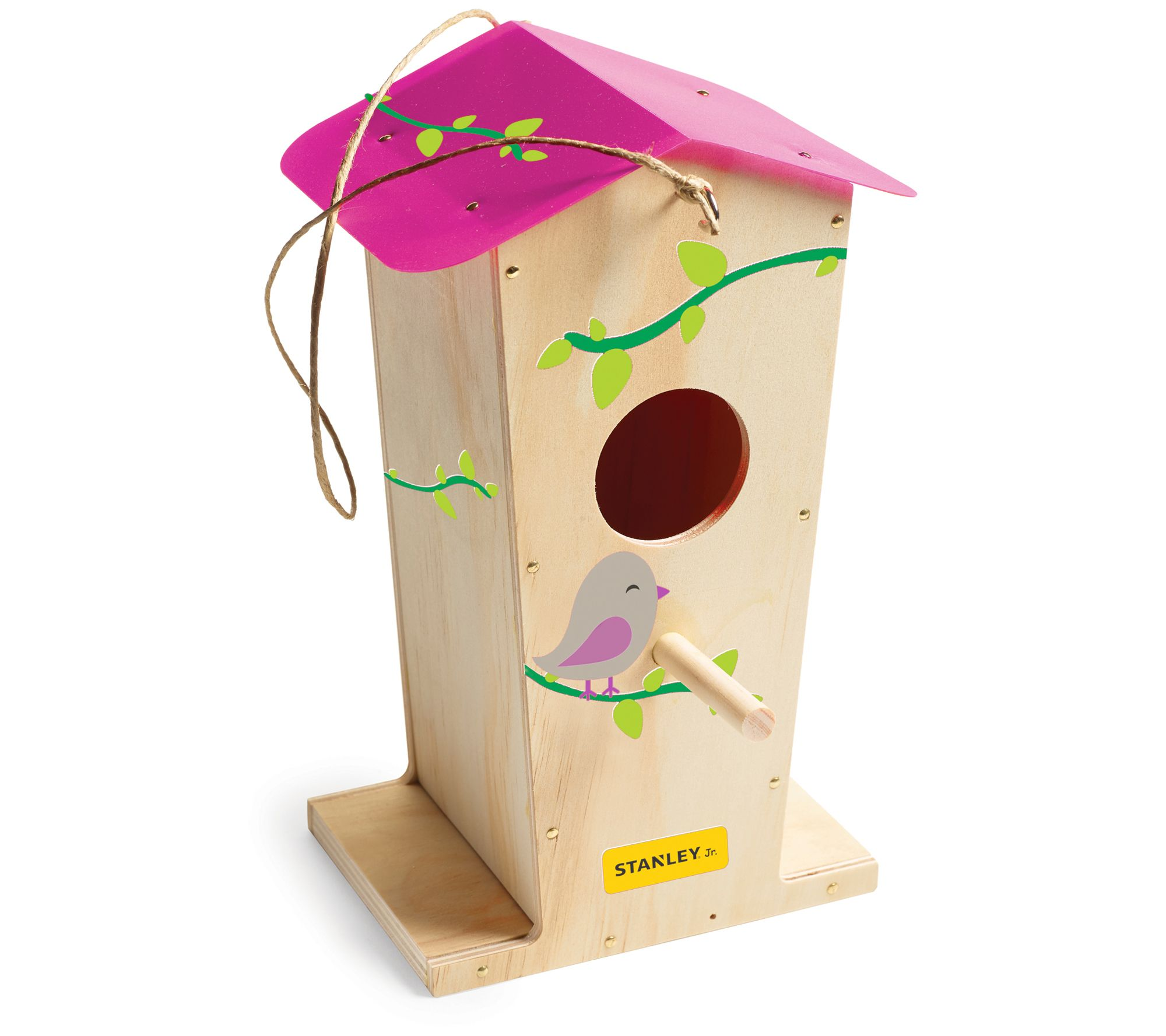 Stanley Jr. Tall Bird House Kit With 5 Piece Tool Set by Stanley