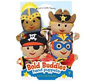 Melissa & Doug Fantasy Plush Characters Hand Puppets - T127715