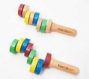 Set of 2 TrueBalance Wooden Handheld Balancers - T35316