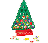 Melissa & Doug Countdown to Christmas Wooden Advent Calendar - T127517