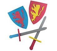 Hey! Play! Foam Sword and Shield Armor PretendPlayset - T128623