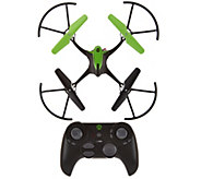 Sky Viper Stunt Drone with Auto Hover and Extra Battery - T34223