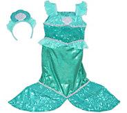 Melissa & Doug Mermaid Role Play Costume Set - T128225