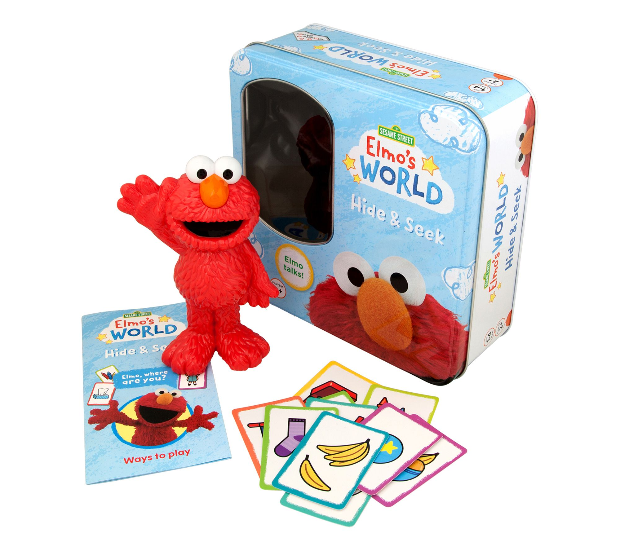 Identity Games Elmo S World Hide Seek Preschool Game Qvc Com