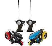 Maisto Tech RC Set of 2 Cyklone 360 Stunt Motorcycles - T35130