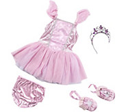 Melissa & Doug Ballerina Role Play Costume Set - T128231