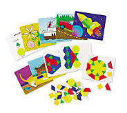 Magnetic Pattern Block Activity Set by LearningResources - T120835