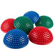 Hey! Play! Hedgehog-Style Balance Pods - Set of6 - T128635