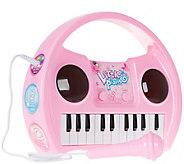Hey! Play! Kids Karaoke Machine with Microphone - T129035