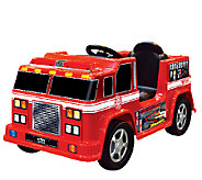 Kid Motorz Fire Engine 6V Ride-On Vehicle - T127437