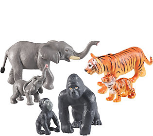 Learning Resources Jumbo Jungle Animals: Mommasand Babies