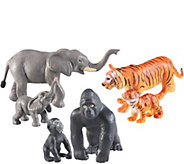 Learning Resources Jumbo Jungle Animals: Mommasand Babies - T128139