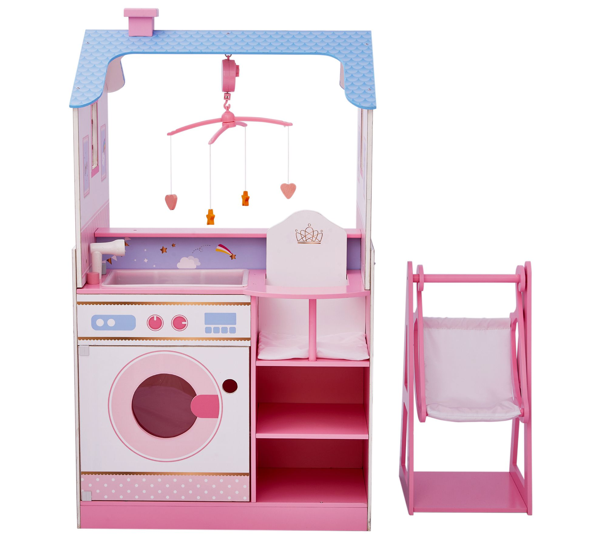 Clic Doll Changing Station Dollhouse